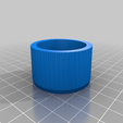 Download free 3D printing files Knob with color LED ring, t0b1