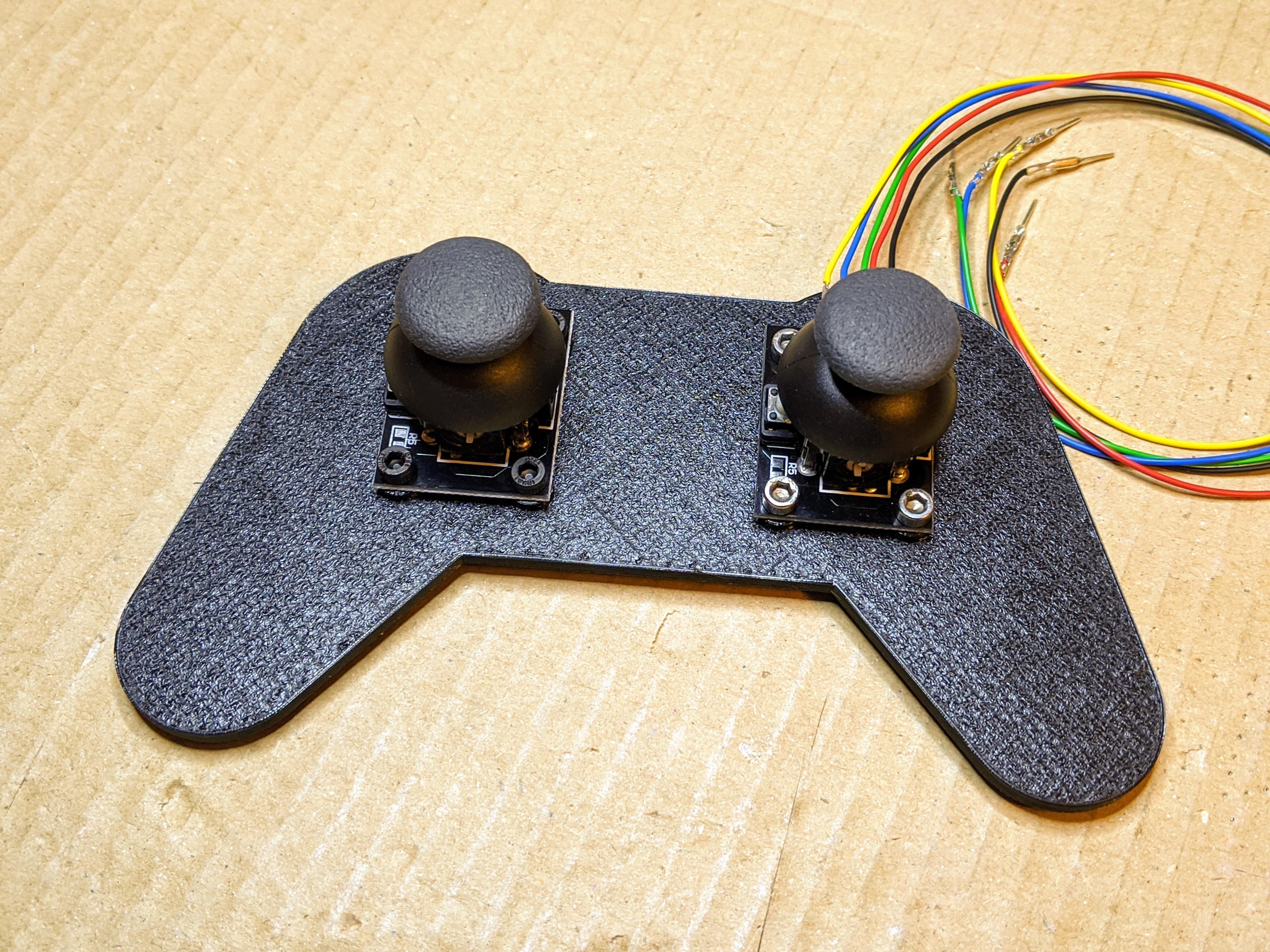 101.jpg Download free SCAD file Joystick controller test bracket • 3D printer object, t0b1