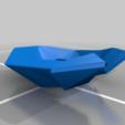 Eagle_Top_Trunk.png Download free STL file Eagle Multi Colour/Material (Elite Dangerous) • 3D print object, Kahnindustries