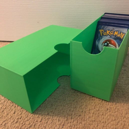 Download free SCAD file Collectible\Pokemon Card Storage Box • Object to 3D print, Kahnindustries