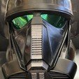 Download free 3D printer designs Components for Death trooper helmet AWT, Kahnindustries
