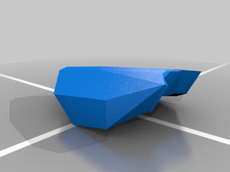 Eagle_Top_Back_Cowl.png Download free STL file Eagle Multi Colour/Material (Elite Dangerous) • 3D print object, Kahnindustries