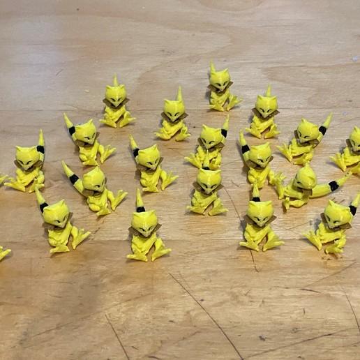 Télécharger objet 3D gratuit Abra - Pokemon 063, Kahnindustries