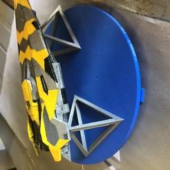 Télécharger modèle 3D gratuit Spray Painting Spinning lazy susan, 608 bearing, Kahnindustries