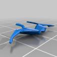 Eagle_Black_Frame.png Download free STL file Eagle Multi Colour/Material (Elite Dangerous) • 3D print object, Kahnindustries