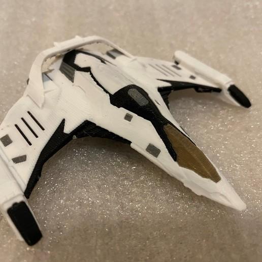 Télécharger fichier 3D gratuit Imperial Eagle Multi Colour/Material (Elite Dangerous), Kahnindustries