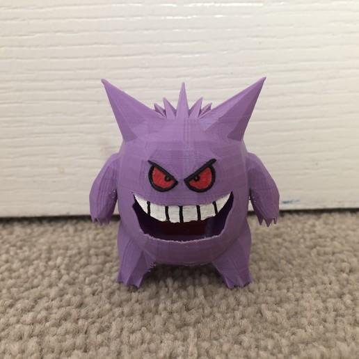 Télécharger fichier impression 3D gratuit Gengar - Pokemon 94, Kahnindustries