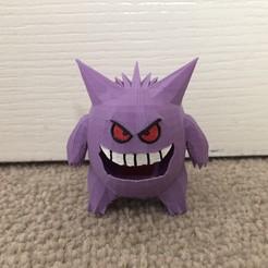 Download free 3D printer designs Gengar - Pokemon 94, Kahnindustries