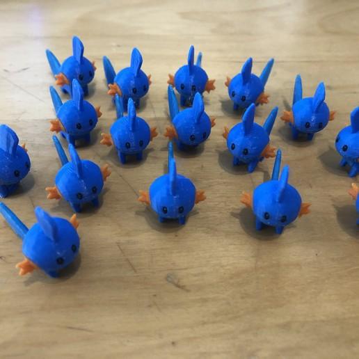 Download free 3D printer designs Mudkip - Pokemon 258, Kahnindustries