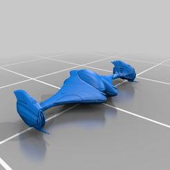 Download free STL file GU-97 2 Part (Elite Dangerous) • Template to 3D print, Kahnindustries