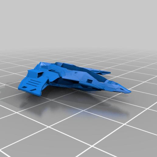 Eagle_Main_Body.png Download free STL file Eagle Multi Colour/Material (Elite Dangerous) • 3D print object, Kahnindustries