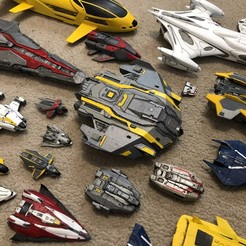 Download free STL file Type-9 Heavy 2 Part (Elite Dangerous) • 3D printing model, Kahnindustries