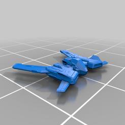 Download free STL file Taipan 2 Part (Elite Dangerous) • 3D printer design, Kahnindustries