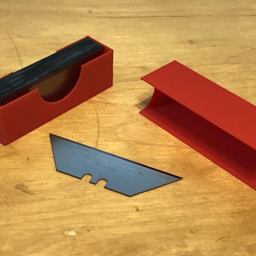 Télécharger fichier STL gratuit Boîte et couvercle de la Stanley Blade • Plan imprimable en 3D, Kahnindustries