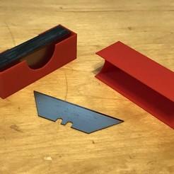 Télécharger fichier 3D gratuit Boîte et couvercle de la Stanley Blade, Kahnindustries