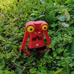 Imprimir en 3D Toxic Eyes, Mutant Busters, 3D2GO