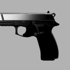 Descargar modelos 3D Bersa Thunder Pro. Training gun, 3D2GO