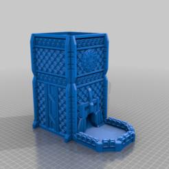 CE3_DwarfTower_Large.png Download free STL file Dwarf Dice Tower (Large) • 3D print template, VidovicArts