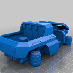 CE3_Body2.png Download free STL file All Terrain Vehicle • Template to 3D print, VidovicArts