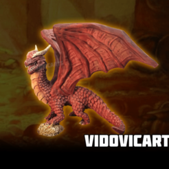 Red_Dragon.png Download free STL file Dragon • 3D printable model, VidovicArts