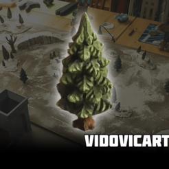 Fir_Tree.png Télécharger fichier STL gratuit Sapin • Plan à imprimer en 3D, VidovicArts