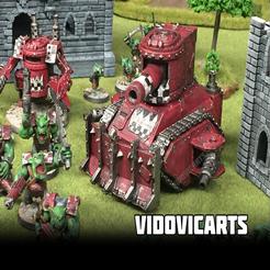 Looted_Tank.png Download free STL file Looted Tank • 3D print design, VidovicArts