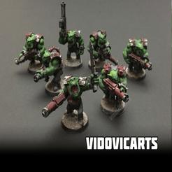 orks.png Download free STL file Ork Infantry • 3D print object, VidovicArts