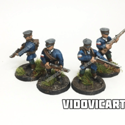 PolaniaStandard.png Download free STL file Iron Harvest Polania Infantry (Standard) • 3D printable object, VidovicArts
