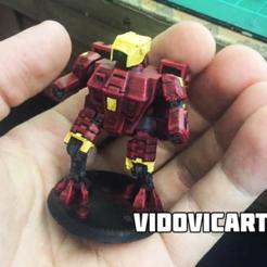 XV8.png Download free STL file War Robot • 3D printable design, VidovicArts