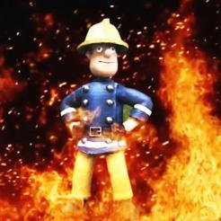 SAM.png Télécharger fichier OBJ gratuit Pompier Sam • Objet pour imprimante 3D, VidovicArts