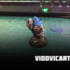 Sonic.png Download free STL file Fat Sonic • 3D printable model, VidovicArts