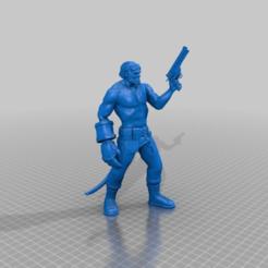 716f2b42e036311e48b40c3ae8de66c7.png Télécharger fichier STL gratuit Hellboy (sans veste) • Objet pour impression 3D, VidovicArts