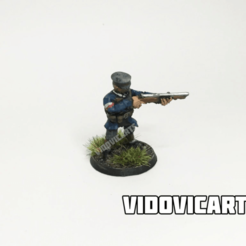 PolaniaAiming.png Download free STL file Iron Harvest Polania Infantry (Aiming) • 3D printable object, VidovicArts