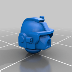 CE3_Helmet.png Download free STL file Halo Marine Head • 3D printer design, VidovicArts