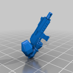 CE3_Arm_with_gun_Up.png Download free STL file Halo Marines (Seperated) • 3D printing object, VidovicArts