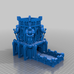 CE3_Big_and_Broken.png Download free STL file Space Marine Dice Tower 2 • 3D printer object, VidovicArts