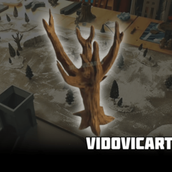 Dead_Tree.png Download free STL file Dead Trees • 3D printable template, VidovicArts
