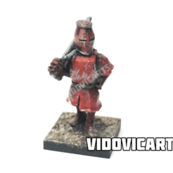 Knight.png Download free OBJ file Knight • 3D printable template, VidovicArts