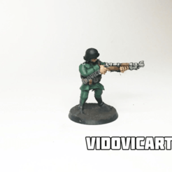 GermanAim.png Download free STL file WW2 German Infantry 28mm (Aiming) • Object to 3D print, VidovicArts