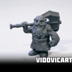axeovershoulder.png Download free STL file Dwarf With Two Handed Axe Over Shoulder • Template to 3D print, VidovicArts