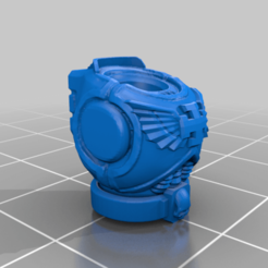 CE3_Torso.png Download free STL file Jumpjet Future Soldiers • 3D printer template, VidovicArts