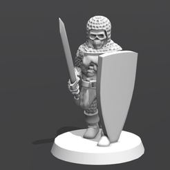 rjygfn.JPG Download free STL file Undead Knights • 3D printable template, VidovicArts