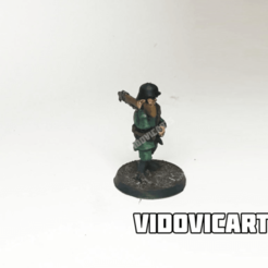 gemancool.png Download free STL file WW2 German Infantry 28mm (Heroic pose) • 3D print object, VidovicArts