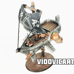 SkavenFlyingShip.png Télécharger fichier OBJ gratuit Navire volant • Plan pour imprimante 3D, VidovicArts