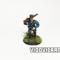 PolaniaCooldude.png Download free STL file Iron Harvest Polania Infantry (Heroic Pose) • 3D printing model, VidovicArts