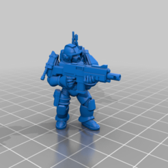 CE3_Aiming2.png Download free STL file Halo Marine Aiming • 3D printable template, VidovicArts
