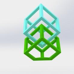 Cubo Flotante.JPG Download STL file SUSPENDED CUBE • 3D printing model, TECNO-ECCOS