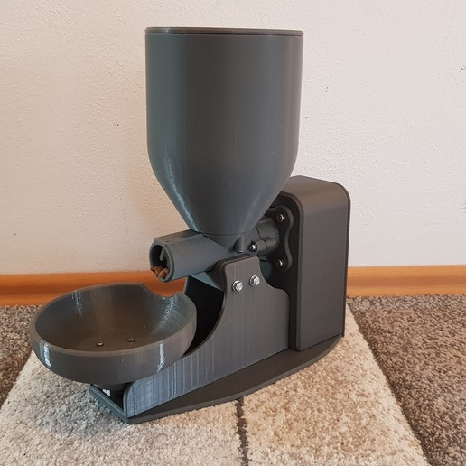 Download free 3D printing files Fully automatic cat feeder, Der_Stihl