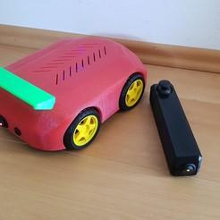 Descargar Modelos 3D para imprimir gratis Coche Arduino, Der_Stihl