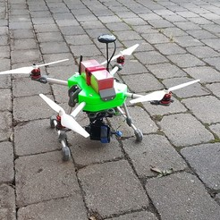 Download free 3D printing templates Drone - Quadrocopter, Der_Stihl